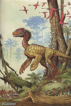 Guanlong by William Stout | h/t @Emily Schoenfeld Schoenfeld Schoenfehf,hfld Schoenfeld Erwin Brouwer