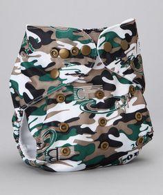 Camo Diaper Cover.  Oh ya!