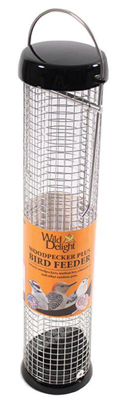 Wild Delight Woodpecker Plus Feeder