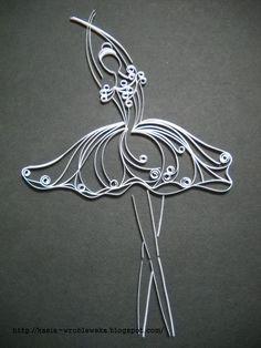 quilled+balerine.JPG 700×933 pixels