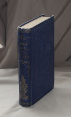 "Very early 1856 edition of Brothers Jacob and Wilhelm Grimm's ""Stray Leaves From Fairy Land"" by ForgottenBookmarks on Etsy"
