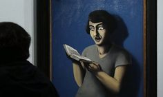 13 People Who Are Definitely Reading Books, Not Just Posing For A Painting