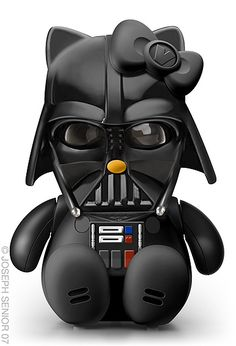 Darth Vadar meets Hello Kitty