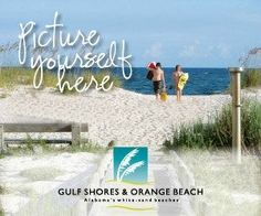 Orange Beach & Gulf Shores... beautiful Alabama Gulf Coast Beaches.  #beach #Alabama #travel