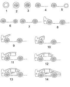 car - Cars Drawings Step By Step