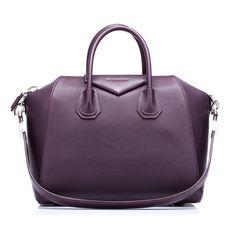 Hammered leather Antigona medium bag by Givenchy