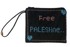 Free Palestine! Small purse, comes in any color.