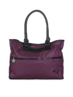 Puma Women Purple Shopper Handbag | Myntra via @Myntra.com.com  Free Credit Repair And Bankruptcy Information  http://www.mydebtbankruptcy.com