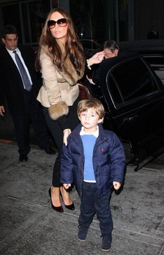 Here's Barron with his mother Melania back in 2009 (Splash News photo)