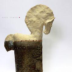 Horse nr 21/ Ceramic Sculpture/ Unique Ceramic Figurine /Horse/ Animal clay/ Horse by arekszwed on Etsy