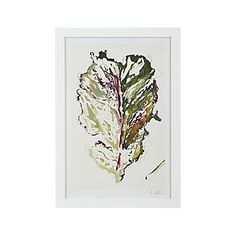 Kale Leaf Print I Crate and Barrel