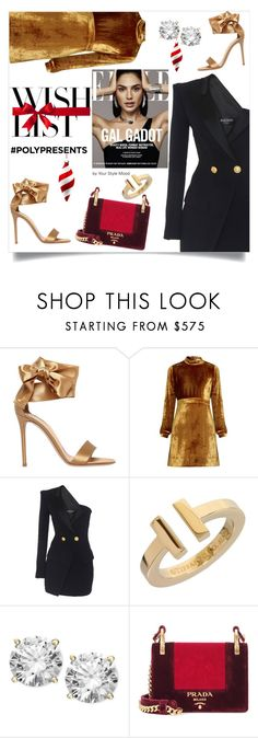 """""""Wish List"""" by yourstylemood on Polyvore featuring мода, Gianvito Rossi, A.L.C., Tiffany & Co., Prada, WishList, polyvoreeditorial, polyvorecontest и polyPresents"""