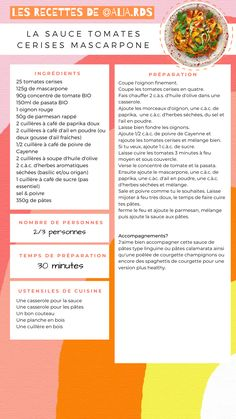 Sauce Creme, Sauces, Food And Drink, Chart, Cooking, Recipes, Tomato Paste, Kitchens, Olive Oil