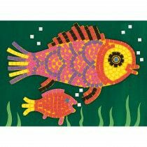 Fishes Mosiac Kit by djeco