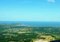 Hemosa vista desde el Cerro Pan de Azúcar. ¡Podés subir y verla vos mismo!  #Piriápolis #Turismo #Maldonado