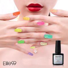 Buy Elite99 10ml Cheese Candy Cream Soak Off UV/LED Gel Polish (Violet)for R87.60
