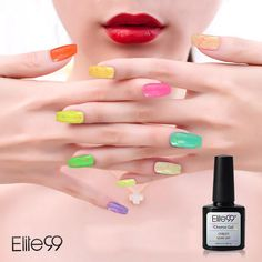 Buy Elite99 10ml Cheese Candy Cream Soak Off UV/LED Gel Polish (Violet) for R87.60