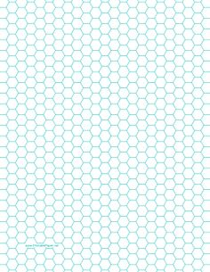 Printable Hexagon Graph Paper with spacing on letter-sized paper Papel Scrapbook, Scrapbooking, Ideas Scrap, Imprimibles Baby Shower, Hexagon Quilt, Hexagon Patchwork, Letter Size Paper, English Paper Piecing, Paper Crafts