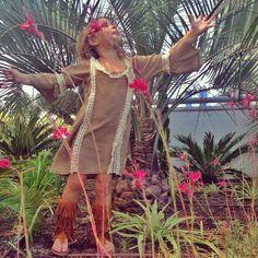 Boho Bohemian Girls Dress Bohemian Dress Camel Dress by myscarlet