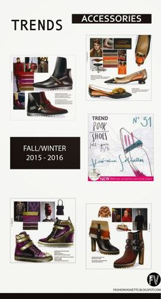 FASHION VIGNETTE: TRENDS // TREND BOOK - BAGS + SHOES . F/W 2015-16
