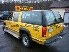 99 suburban school bus