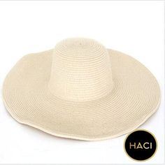 1b4cd19c8e6  Haci Sun Hat Summer Fashion Floppy Straw Travel Hat