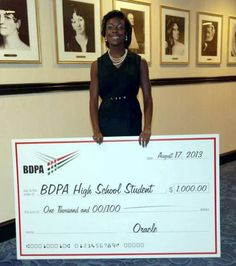 BDPA Foundation: Oracle Scholarship Winner: Brandi Taylor (BDPA ... #BDPA15 #BDPA40