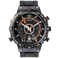 Relógio Timex Masculino IQ Adventure Series T2N723WKL/TN Preto - Timex