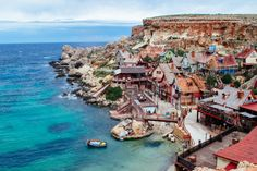 Popeye Village Malta is one of Malta's most interesting and unique attractions! If you're looking for things to do in Malta or inspiration for your Malta itinerary, check out this photo diary for a peek inside the world-famous Popeye Village.