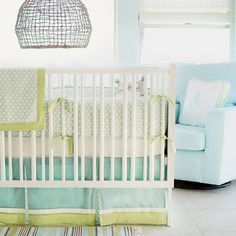 Little Leaf Baby Bedding from PoshTots...Seriously why must I have such expensive taste? Geez