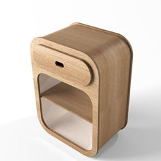 Unto This Last - wall mounted bedside table