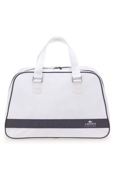 86668b9c42b5 Lacoste Eau de Lacoste Anniversary Bag is a handy accessory. This large  carry-all