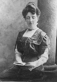 Lucy Maud Montgomery, the way she saw the world and put it to paper. Author of ANNE OF GREEN GABLES.