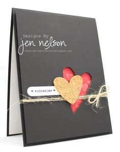 great way to use die cuts >> card by Jen Nelson