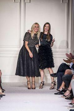 Marchesa's Designer Georgina Chapman and Keren Craig, so cute & cool !