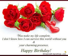 Image result for free birthday card for wife