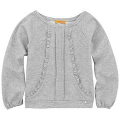 Cacharel - Mottled grey top - 46211 (Top Model Enfant)
