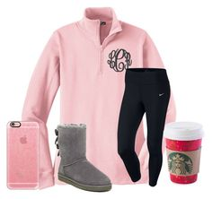 Follow me on musical.ly- @molly.elaine by texasgirlfashion on Polyvore featuring NIKE, UGG Australia and Casetify