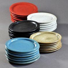 Art de la table | LULÌSHOP Assiettes Tapas Céramique Ceramic small plates  Julien Truchon artisan