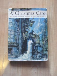 A Christmas Carol by Charles Dickens - 1961 - With Dust Jacket - $20