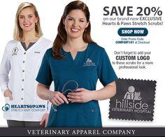 Veterinary Apparel Company Spring Polos!