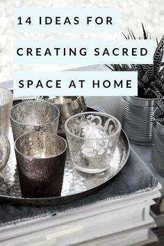 creating sacred space at home | spiritual growth | meditation or yoga room
