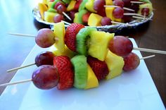 2012-03-09 Fresh Fruit Kabobs 042 by From Valerie's Kitchen, via Flickr