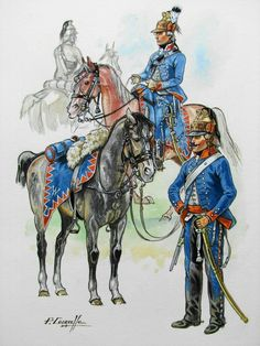 The Legion de Beon, a French emigre regiment, 1793 - Military Art, Military History, Colonel, British Uniforms, Early Modern Period, French Army, French Revolution, American War, Napoleonic Wars