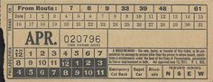 Front of emergency streetcar transfer from Philadelphia (Pennsylvania) Transportation Company (altered version of Philadelphia Rapid Transit Company transfer) (date unknown)