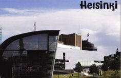Postcard sent to The Netherlands: Museum of Modern Art in Helsinki, Finland (swap: Not-my-country-postcard December)