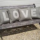 Personalised Luxury Letter Cushions - personalised decorations - that's a clever idea to do with personalised cushions!