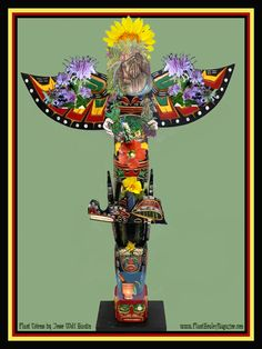 Plant Totem www.PlantHealerMagazine.com  by Jesse Wolf Hardin  who does lots of great stuff!!!