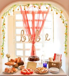 not that I'm planning a baby shower anytime soon, but I love the french theme