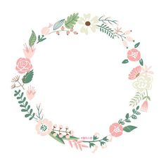 Get Floral Frame. Cute Retro Flowers Arranged Un A Shape Of The Wreath Perfect For Wedding Invitations And Birthday Cards royalty-free stock image and other vectors, photos, and illustrations with your Storyblocksmembership. Flower Invitation, Floral Wedding Invitations, Retro Flowers, Vintage Flowers, Pink Flowers, Flower Frame, Flower Art, Flower Ideas, Wreath Drawing